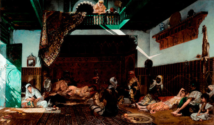 Intérieur de harem au Maroc / Peintures XVIe - XXIe siècles / Chefs-d'Œuvre / Collections ...
